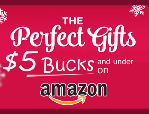 10 Cool Gifts for $5 Bucks and Under on Amazon