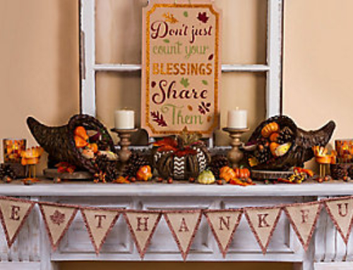 Creating a festive mood with thanksgiving decorations